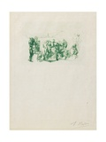 La Ronde, C. 1883-1884 Giclee Print by Auguste Rodin