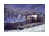 Midwinter at the Mill, 2010 Giclee Print by Anthony Rule