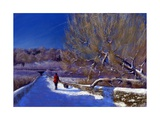 Winter Walk, 2012 Giclee Print by Anthony Rule