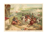Battle of Valmy, France, 1792 Giclée-Druck von Antoine Charles Horace Vernet