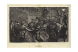 Witchcraft in 1871 Giclee Print by Arthur Boyd Houghton
