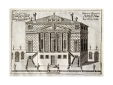 Main Facade of Villa Foscari known as La Malcontenta Giclee Print by Andrea Palladio