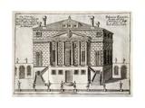 Main Facade of Villa Foscari known as La Malcontenta Giclee Print by Andrea Palladio