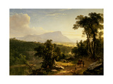 Landscape-Composition: in the Catskills, 1848 Giclee Print by Asher Brown Durand