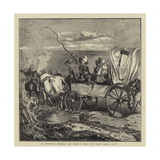 A Mormon Family on their Way to Salt Lake City Giclee Print by Arthur Boyd Houghton