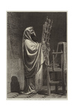 The High Priest at Nablus Reading the Pentateuch Giclee Print by Carl Haag