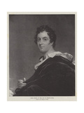 Lord Byron, at the Age of Thirty-Four Giclee Print by Benjamin West