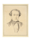 Portrait of Sir John Everett Millais, 1850 (Graphite with Watercolour on Discoloured Cream Paper) Giclee Print by Charles Alston Collins
