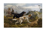 Grouse Hunting, 1880 Giclee Print by Basil Bradley