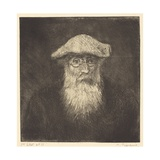 Self-Portrait, C.1890 Giclee Print by Camille Pissarro
