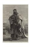 Es Salaam, Sheikh Michael El Musrab, Anazeh, at Palmyra Giclee Print by Carl Haag