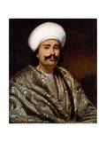 Portrait of a Nawab, C. 1856-62 Giclee Print by Benjamin Hudson