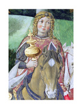 Horsemen in the Royal Entourage Giclee Print by Benozzo di Lese di Sandro Gozzoli