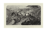 Morning in the Highlands, the Royal Family Ascending Lochnagar, 1853 Giclee Print by Carl Haag