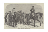 Stockwell, Winner of the St Leger, Returning to Weigh Giclee Print by Benjamin Herring