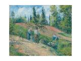 The Harvest, Pontoise, 1880 Reproduction procédé giclée par Camille Pissarro
