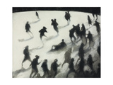The Rink IV, 1991 Giclee Print by Bill Jacklin