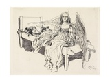 Der Schutz Engel, 1905 Giclee Print by Carl Larsson