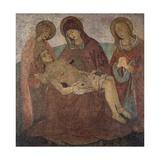 Pieta, by Bartolomeo Caporali (Ca 1420-Ca 1505), Italy, 15th Century Giclee Print by Bartolomeo Caporali