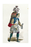 Coconut Seller in 1774 Giclee Print by Burn Smeeton