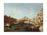 The Rialto in Venice Giclee Print by  Canaletto