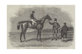 Epsom Races, 1852, Daniel O'Rourke, the Winner of The Derby Stakes Giclee Print by Benjamin Herring