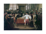Cromwell Dissolving the Long Parliament, 1782 Giclee Print by Benjamin West