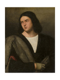 Portrait of a Man, C.1520 Giclee Print by Bernardino Licinio