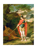 Perseus and Medusa Giclee Print by Benjamin West