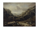 West Country Landscape Giclee Print by Benjamin Barker