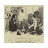 The Chaplain of the Fleet Giclee Print by Charles Green