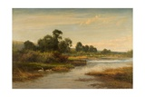 Goring on Thames, 1873 Giclee Print by Benjamin Williams Leader