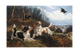 Woodcock Hunting, 1880 Giclee Print by Basil Bradley