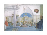 Our Church at Sundborn Giclee Print by Carl Larsson