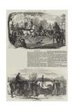 Epsom Races, 1856 Giclee Print by Benjamin Herring