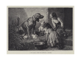 A Nice Family Giclee Print by Carl Reichert