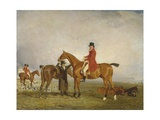 George, 5th Duke of Gordon on 'Tiny', 1806-7 Giclee Print by Benjamin Marshall