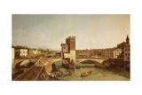 Ponte Delle Navi, Verona Giclee Print by Bernardo Bellotto