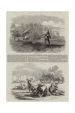 French Agricultural Scenes Giclee Print by Charles Emile Jacque