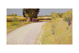 Path in the Country, C.1886 Giclee Print by Charles Angrand