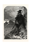 Tyrolese Chamois Hunter Giclee Print by Carl Haag