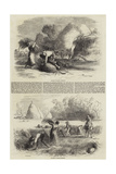 Agriculture in France Giclee Print by Charles Emile Jacque