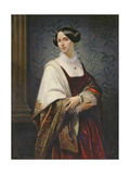 Portrait of a Woman, 1853 Giclee Print by Benedict Masson