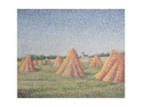The Harvest, 1890 Giclee Print by Charles Angrand