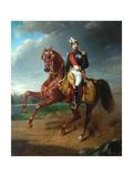 Charles Louis Napoléon Bonaparte, 1857 Giclee Print by Charles Edouard Boutibonne