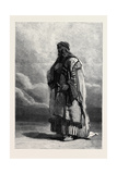 Miguel El Musrab Sheikh of the Anazeh Tribe Giclee Print by Carl Haag
