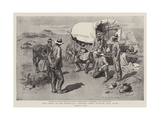 The Crisis in the Transvaal, Fighting their Battles over Again Giclee Print by Charles Edwin Fripp