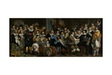 Banquet of the Crossbowmen's Guild in Celebration of the Treaty of Munster, 1648 Giclee Print by Bartolomeus Van Der Helst