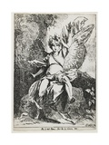 The Angel of the Resurrection , from Specimens of Polyautography, 1801 (Published 1803) Giclee Print by Benjamin West