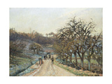 Orchard Near D'Osny, Pontoise, 1874 Giclee Print by Camille Pissarro